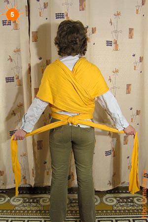 Видео по теме слинг шарф для новорожденных как завязать.